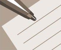 Pen on paper illustration